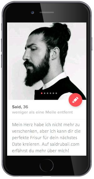 Tinder Werbung